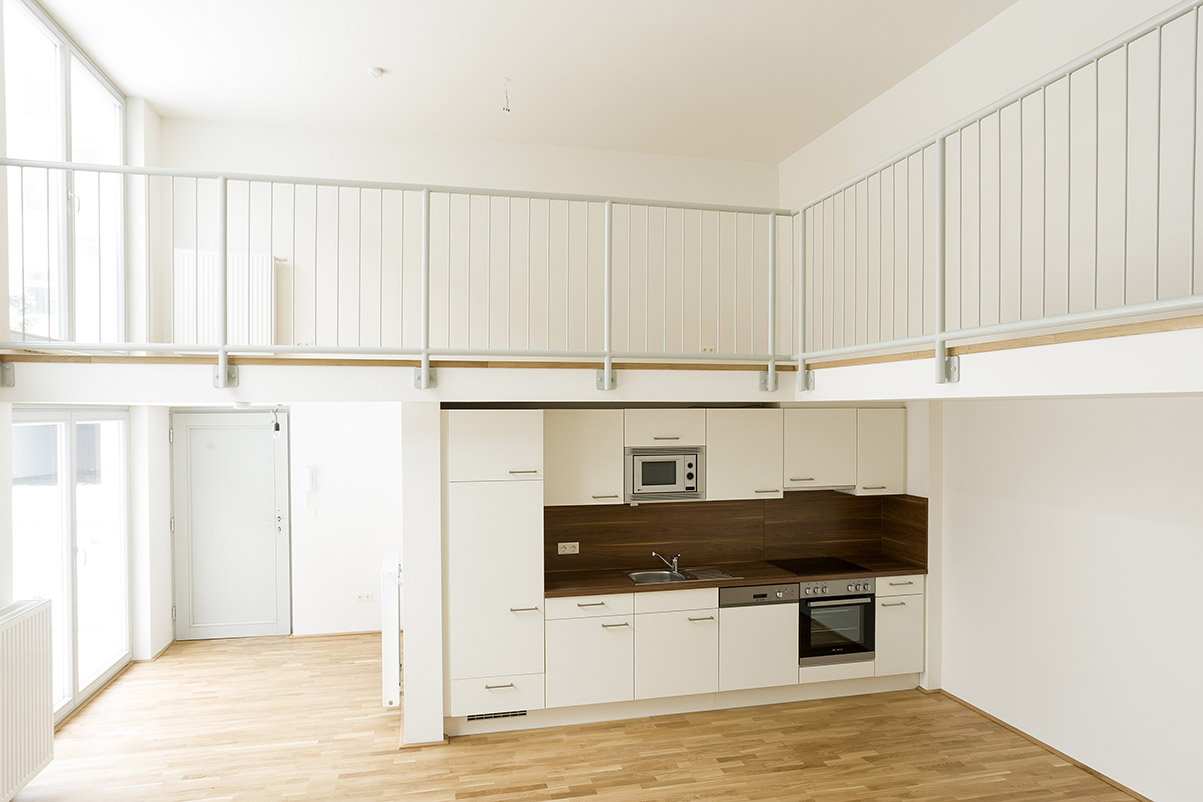 Wohnküche nach der Totalsanierung